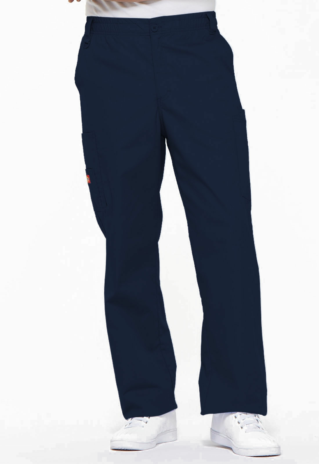 Dickies Scrubs Pants Mens Zipper fly Elastic Waistband Drawstring Pant 81006
